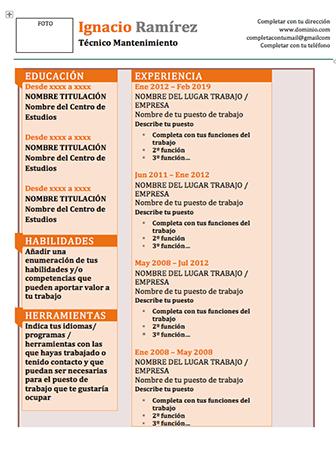 Modelo Curriculum Clasico