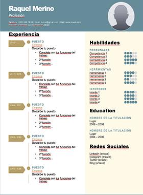 Modelo Curriculum Creativo