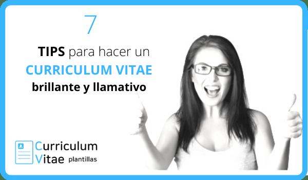 7 TIPS para hacer un CURRICULUM VITAE