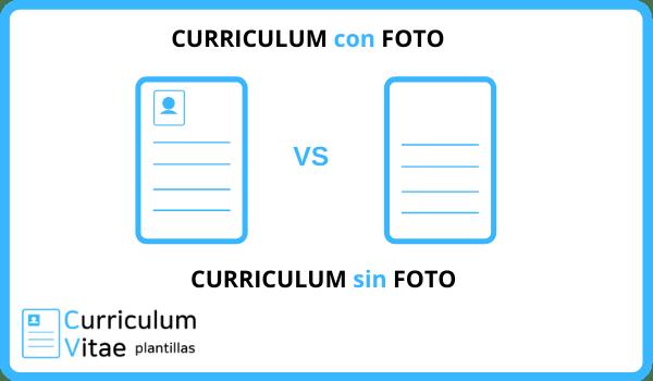 curriculum con foto o curriculum sin foto