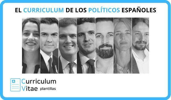 El Curriculum de los Políticos Españoles