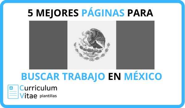 PAGINAS BUSCAR TRABAJO MEXICO