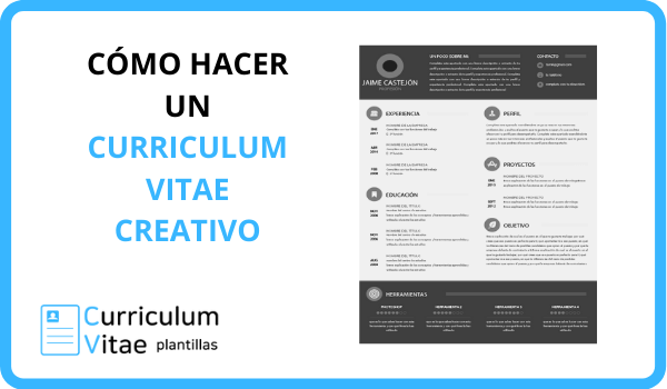 CURRICULUM CREATIVO