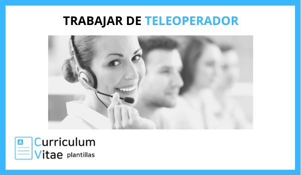 curriculum teleoperador