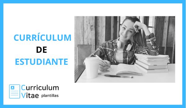 curriculum de estudiante